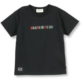 【40%OFF】 ブランシェス マルチカラー刺繍半袖Tシャツ(90~140cm) レディース ブラック 130cm 【branshes】 【セール開催中】