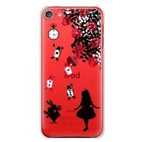 ガールズネオ apple iPod touch 第6世代 ケース (アリス A/ブラック) Apple iPodtouch6-PC-YSZ-0193