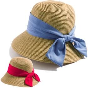 商品名 グレインサマーハット UVカット 帽子 レディース 大きいサイズ つば広 夏 麦わら