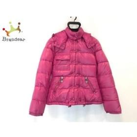 モンクレール ダウンジャケット サイズ0 XS レディース ベレンジェール(BERENGERE) ピンク 冬物  値下げ 20191011