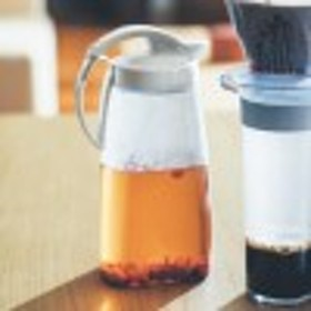 熱湯も注げる洗いやすいワンプッシュ開閉縦横兼用ピッチャー[日本製]