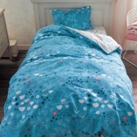 綿100%の掛け布団カバープロヴァンスのマキ