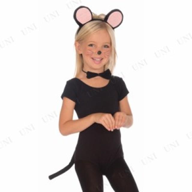 b8e05f72916e34 ネズミキット 子供用 仮装 衣装 コスプレ ハロウィン 子供 アニマル 動物 コスチューム 子ども用 キッズ こども