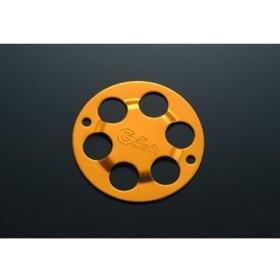 Gクラフト 汎用 クラッチカバー(A) ゴールド メーカー在庫あり ジークラフト
