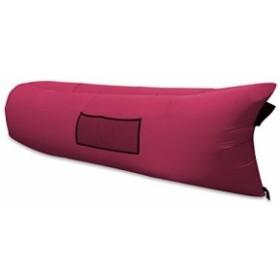 HONSAN エアーソファー エアーベッド エアーマット 空気を入れるだけ どこでも寝られる キャンプ インフレータブル寝袋 チェア キャリー