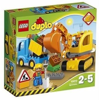 """レゴ (LEGO) デュプロ デュプロのまち""""トラックとショベルカー"""" 10812"""
