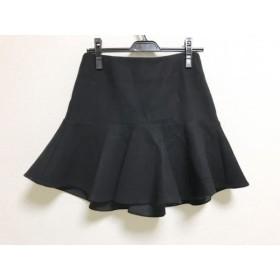 【中古】 ミューズデドゥーズィエムクラス スカート サイズ34 S レディース 美品 黒