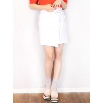 ミニスカート - dazzlin 【S】コンパクトラップスカート