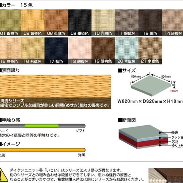 フローリング用 置き畳 和紙製 特注サイズ