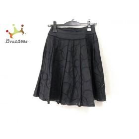 アドーア ADORE 巻きスカート サイズ36 S レディース 美品 黒 レース   スペシャル特価 20190628