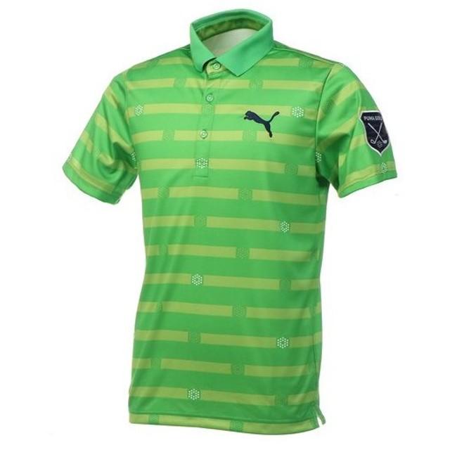 a7fbecc0b786f プーマ ゴルフウェア ポロシャツ メンズ 半袖 ストライプ SS ポロシャツ 923688