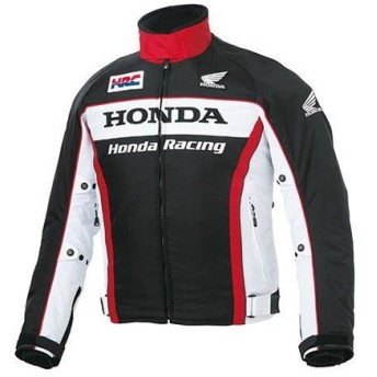 Honda ホンダ HRC 2018-2019秋冬モデル ウインターグラフィックブルゾン(ブラック) LL