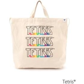 THE SHOP TK / ザ ショップ ティーケー Tetris(R)2WAYキャンバストートバッグ