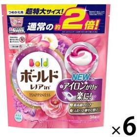 ボールド ジェルボール3D プレミアムブロッサム 詰め替え 超特大 1セット(6個入) 洗濯洗剤 P&G