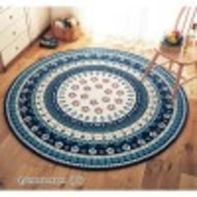 東欧風のゴブラン織りラグ