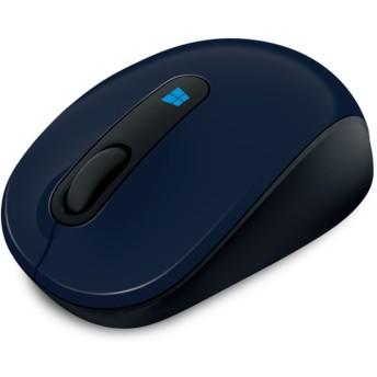 Microsoft スカルプト モバイル マウス (ウール ブルー)