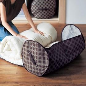 【まとめ買いでお得】防ダニ機能が続く丸めて収納する布団収納袋