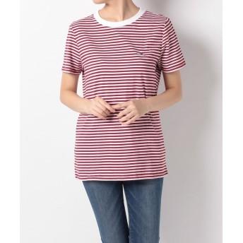 TOMMY HILFIGER トミーヒルフィガー クラシックストライプTシャツ DW0DW04794