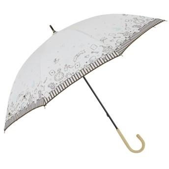 [マルイ]【セール】日傘【Disney(ディズニー)】(手開き式長傘/晴雨兼用/UVカット率&遮光率99%以上/ラインドロップス(LINE DROPS)