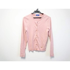 【中古】 ブルーレーベルクレストブリッジ カーディガン サイズ38 M レディース ピンク