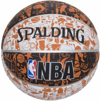 SPALDING(スポルディング) グラフィティ オレンジ 5号球 バスケット ボール 83360J