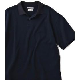 【55%OFF】 シップス SU: ビッグ 鹿の子 ポロシャツ メンズ ネイビー MEDIUM 【SHIPS】 【タイムセール開催中】