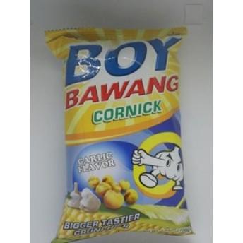 【Philippine/フィリピン】BOY BAWANG CORNIC GARLIC FLAVOR 100g ボーイ バワング ガーリック味 100g