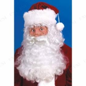 サンタウィッグ&ひげ クリスマス コスプレ 変装グッズ 仮装 小物 サンタコスプレ サンタクロース ヒゲ 髭 白ひげ