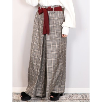 パンツ・ズボン全般 - dazzlin ベルト付パンツ
