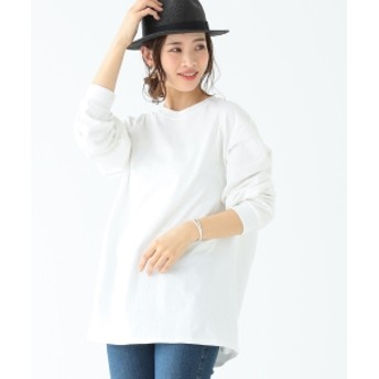 B:MING by BEAMS / ロングスリーブ Tシャツ レディース Tシャツ WHITE ONE SIZE