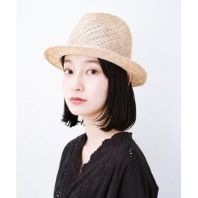 ハコ SUBLIME デッドストックのショートハット レディース ベージュ N 【haco!】