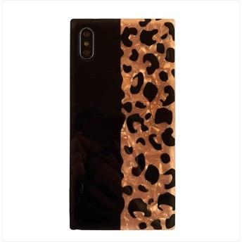 スマホケース - Rutta マーブルレオパードスマホケース 韓国ファッション iphone7 iphone8 iphone7Plus iphone8Plus iphoneX iphoneXs