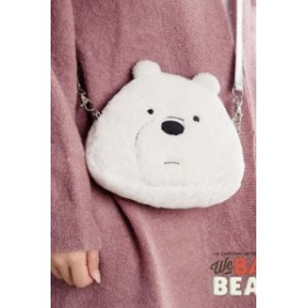 ぼくらベアベアーズ We Bare Bears Ice Bear アイスベア リュックサック バッグ コスプレグッズ[CRS496]