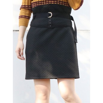 ミニスカート - dazzlin コルセット付ミニスカート