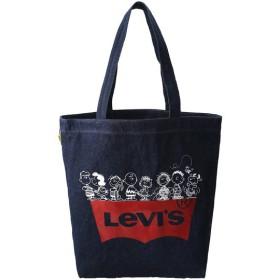 SALE 【30%OFF】 Levi's リーバイス PEANUTS(R) COLLECTION トートバック ブルー