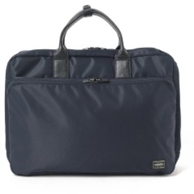 PORTER / PORTER TIME 3WAY BRIEFCASE メンズ ビジネスバッグ NAVY ONE SIZE