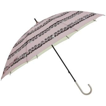 [マルイ] 日傘【MOOMIN(ムーミン)】(手開き式長傘/晴雨兼用/UVカット率&遮光率99%以上/遮熱/撥水/ラインドロップス(LINE DROPS)