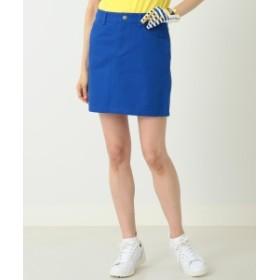 BEAMS GOLF ORANGE LABEL / バッグ ロゴ スカート レディース ミニスカート BLUE S