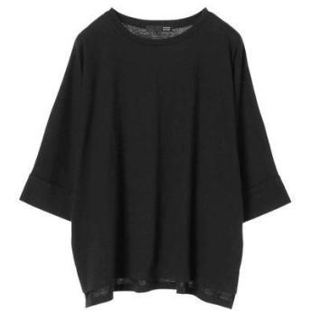グリーンパークス Green Parks ・バックロゴptドルマンTシャツ (Black)
