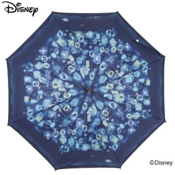 [マルイ]【セール】日傘【Disney(ディズニー)】(手開き式長傘/晴雨兼用/UVカット率&遮光率99%以上/遮熱/ラインドロップス(LINE DROPS)