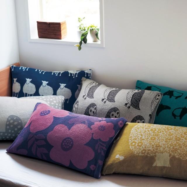 北欧調デザインの消臭のびのび枕カバー