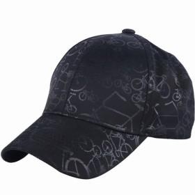 キャップ 帽子 野球帽 CAP 自転車柄 男女兼用 男性 女性 メンズ レディース ユニセックス カジュアル おしゃれ オシャレ ぼうし 日よけ UV