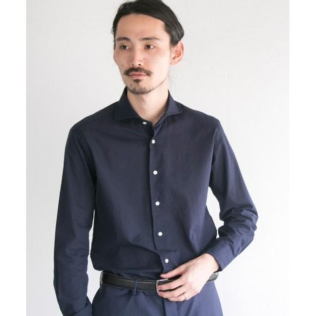 アーバンリサーチ URBAN RESEARCH Tailor ドビーシャツ メンズ NAVY S 【URBAN RESEARCH】