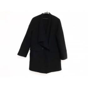 【中古】 ボディドレッシングデラックス BODY DRESSING Deluxe コート サイズ38 M レディース 黒 冬物