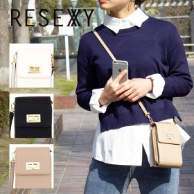 ショルダーバッグ - STYLE CODE RESEXXY リゼクシーバックルマルチケース(ポシェットウォレット) REX-19770 ショルダーバッグ ウォレットショルダー 財布 ポシェット レディース