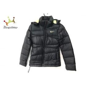 ナイキ NIKE ダウンジャケット サイズS レディース 黒 ジップアップ/冬物 新着 20190421