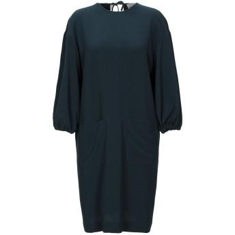 《セール開催中》ALYSI レディース ミニワンピース&ドレス ダークグリーン 42 ポリエステル 94% / ポリウレタン 6%