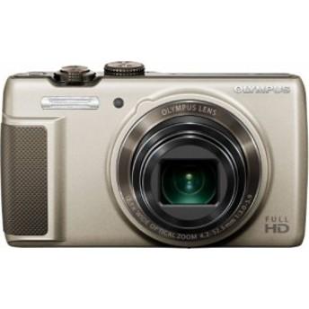 OLYMPUS デジタルカメラ SH-21 ゴールド 1600万画素 CMOS 光学12.5倍ズーム(中古品)