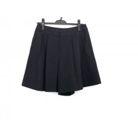 【中古】 ニジュウサンク 23区 ショートパンツ サイズ38 M レディース 美品 黒