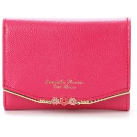 サマンサタバサプチチョイス お花バーシリーズ(折財布) レッド